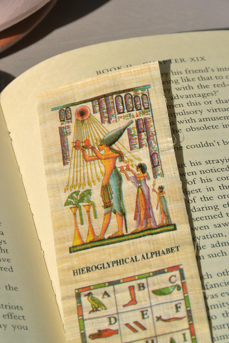 papyrus souvenir egypt