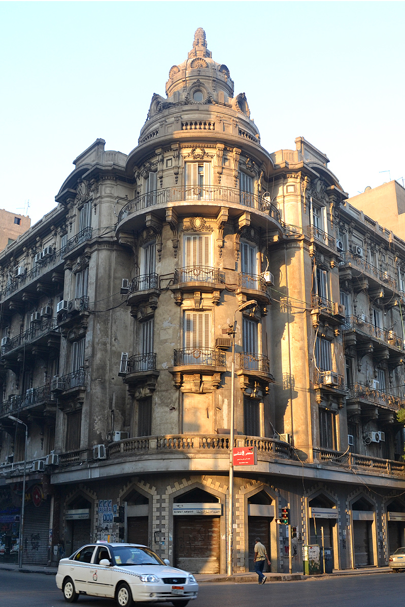 downtown cairo architecture