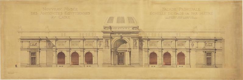 egyptian museum design