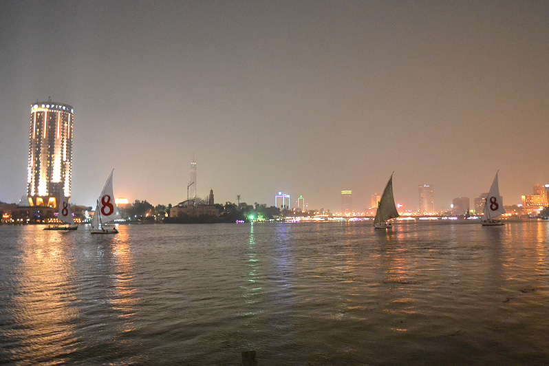 felucca downtown cairo