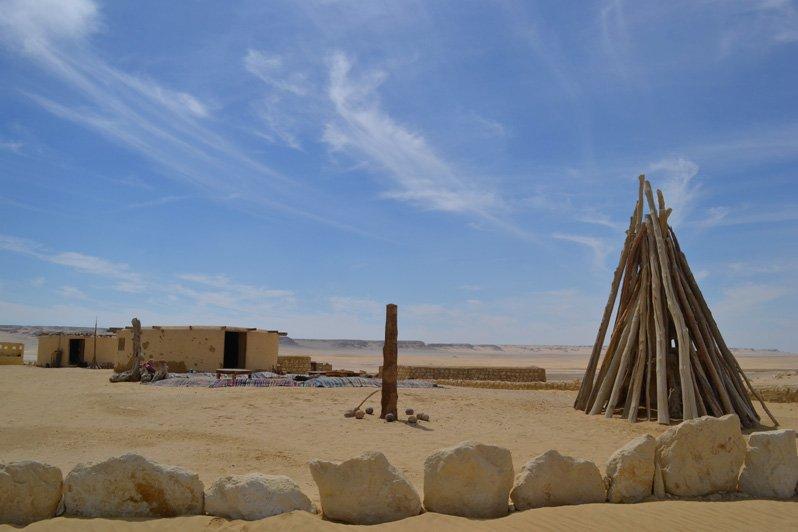 fayoum egypt desert