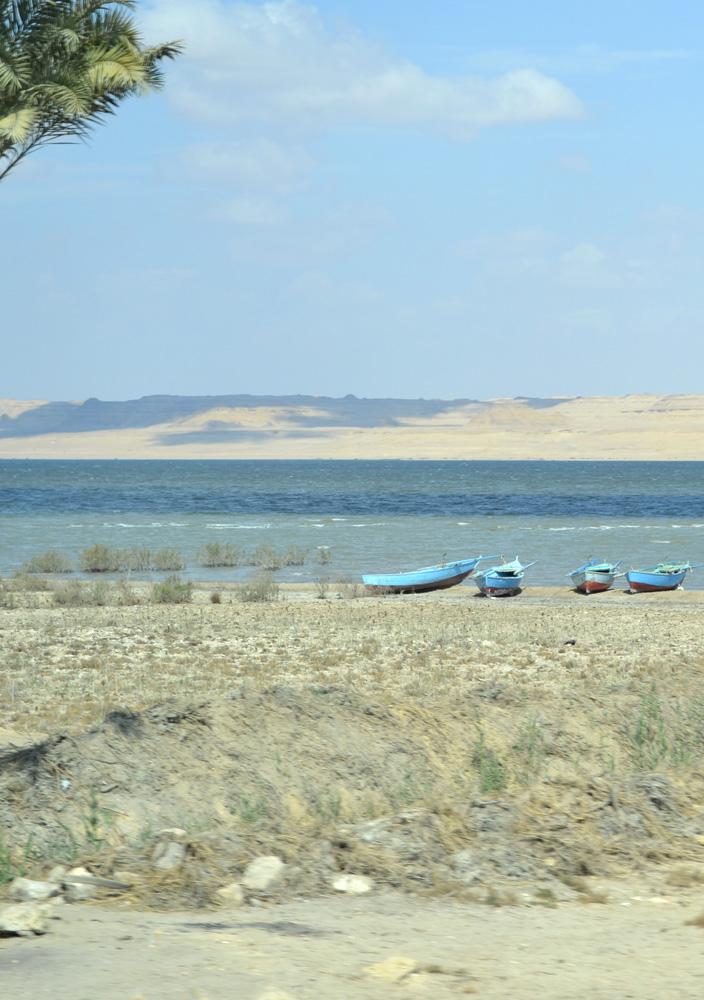 Lake Qarun, Fayoum, Egypt