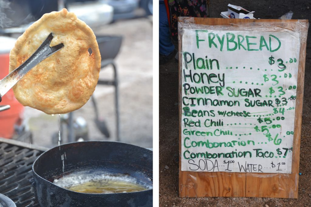 Tucson Mission Fry Bread