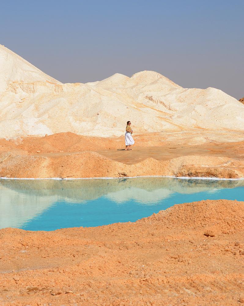 salt lakes siwa