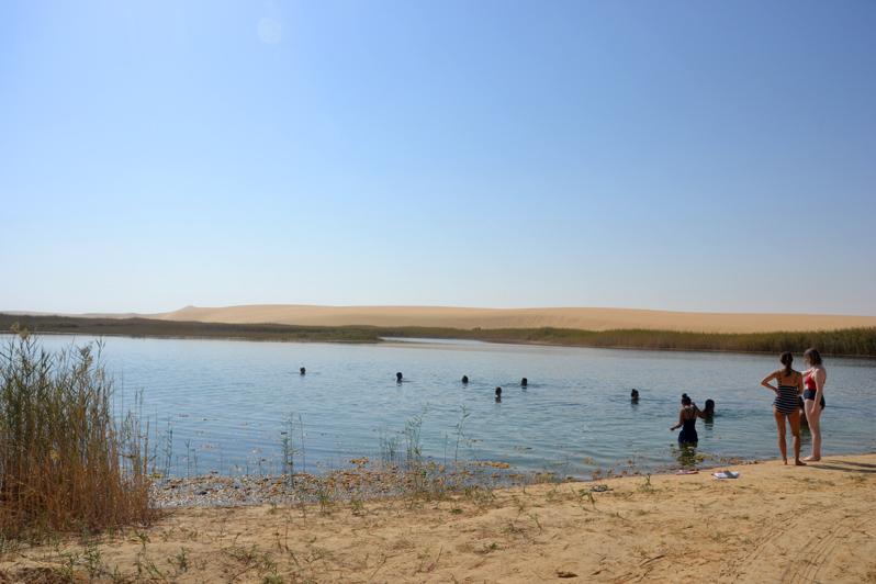 siwa freshwater lake