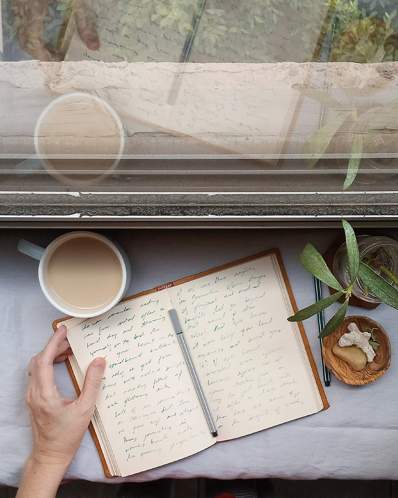 benefits of writing a daily diary
