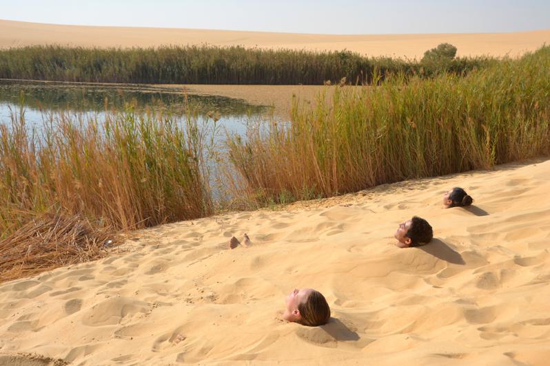 siwan sand bath