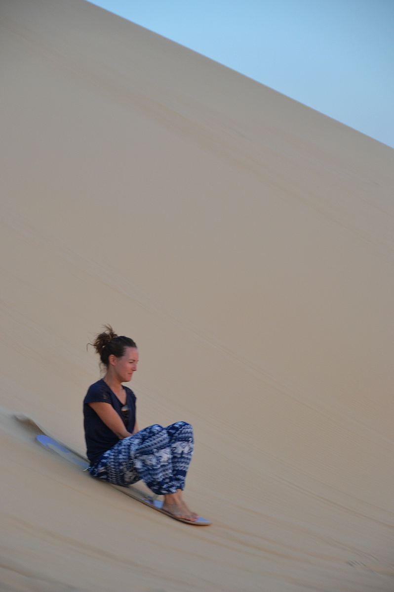 sandboarding sahara