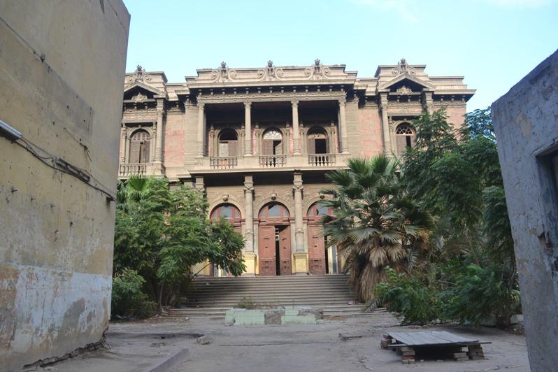 said halim palace cairo